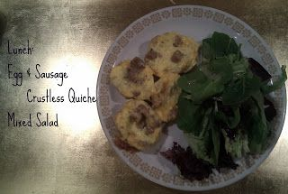 Mini Crustless Egg Quiches  Belly Fat Cure Menu for the Day  Me and Jorge: Belly Fat Cure Diet by Jorge Cruise