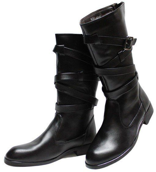 Free shipping!The new trend of handsome man tall canister boots cowboy  fashionable male boots on AliExpress.com. $52.00