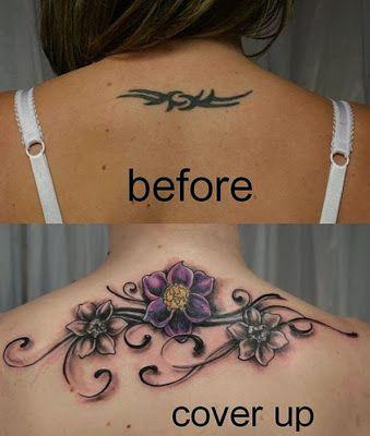 les meilleurs recouvrement de tatouage 14   Les meilleurs recouvrements de tatouage   transformation tatouage tatoo recouvrement photo image...