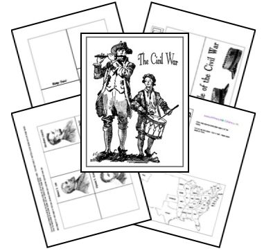 Free lapbook, science, health, history, math and more