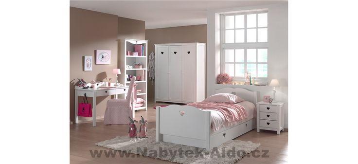 Dětský pokoj pro holku v elegantním stylu