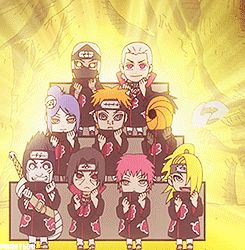 I'd like to remind everyone that these are really bad people, and they're dancing like idiots. This is why I love Naruto