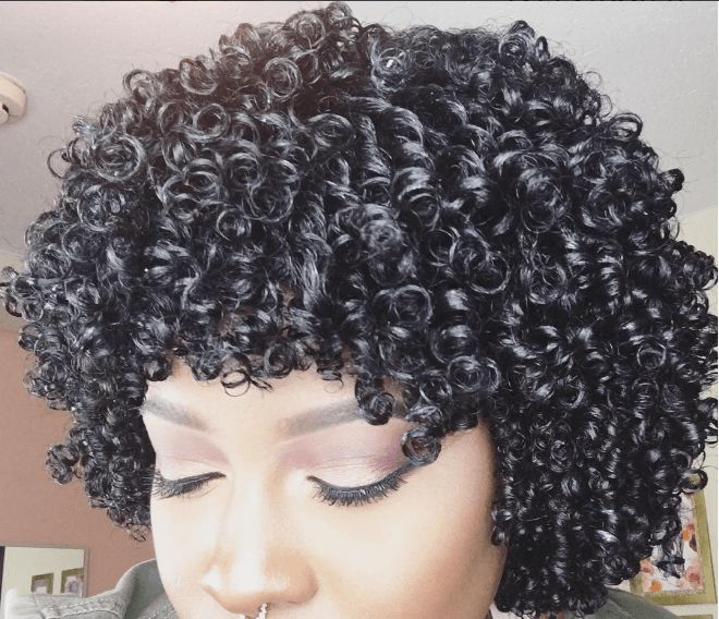 Follow This Perfect Ultra Defined Finger Coils tutorial for gorgeous spiral curls. This style is great for short, medium and long length natural hair!
