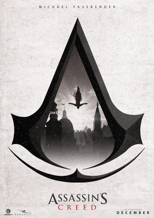 Assassin's Creed Movie Poster - Ben Harman.