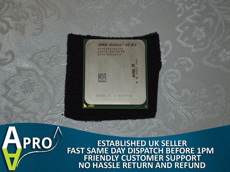 AD04000IAA5DD - AMD ATHLON 64 X2 2.1/1 S. AM2 PROCESSOR CPU 2 CORES - UK SELLER #AMD