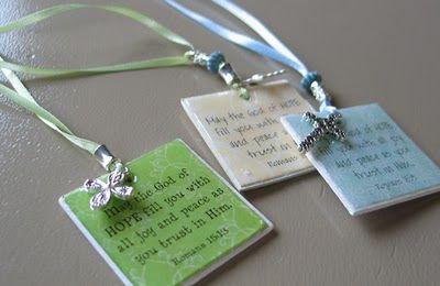 Scripture bookmarks or magnet tutorial,