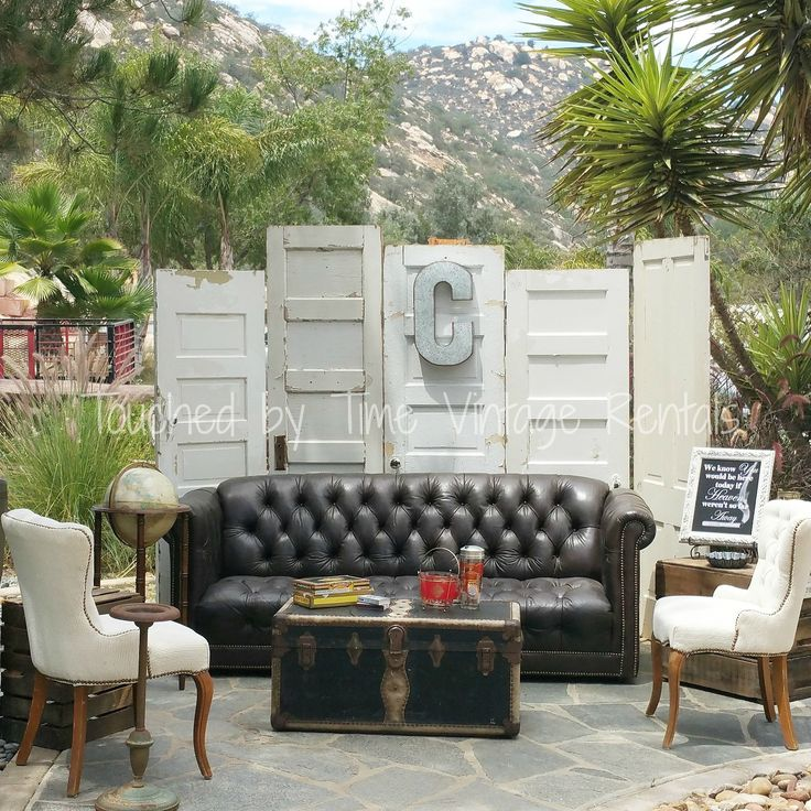 Outdoor Wedding Bar Ideas: Cigar Lounge Props/styling Touched By Time Vintage Rentals