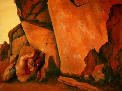 Red Rock Stories #3D #Casting #Art