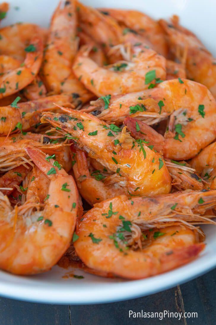 Garlic butter shrimp recipe garlic butter shrimp