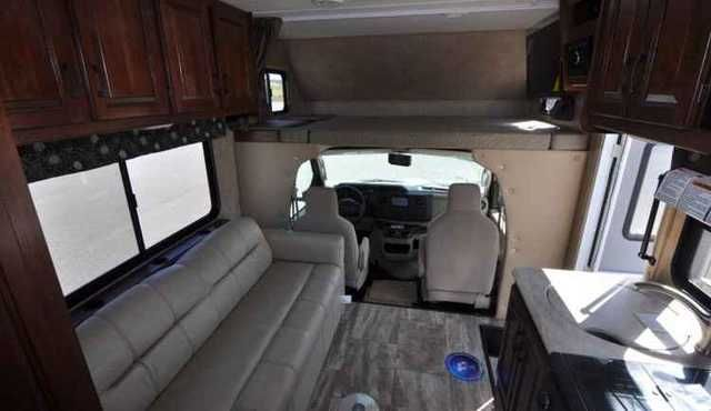 """2016 New Forest River Forester 2251S LE Class C in North Carolina NC.Recreational Vehicle, rv, Forester Class C motorhomes offer comfortable floorplans with spacious interior living, well-appointed décors, and several slide-out floorplan options. Plus, all Foresters are """"Certified Green"""" by TRA Certification. With 14 floor plans and 3 chassis platforms, you'll have no problem finding the perfect motorhome to suit your camping style. This FORESTER is the 2251S LE on the FORD Chassis. The Key…"""