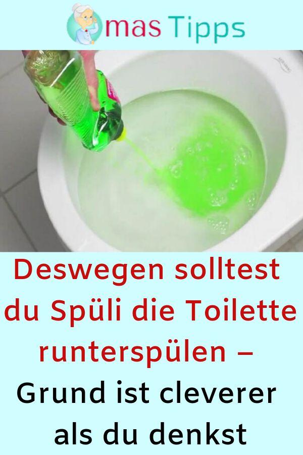 Deswegen solltest du Spüli die Toilette runterspülen – Grund ist cleverer al…