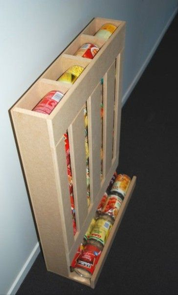 Can storage in the pantry