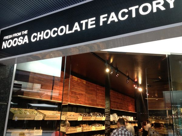 The dark chocolatier  156 Adelaide St Brisbane CBD hot choclates, chocolates and more