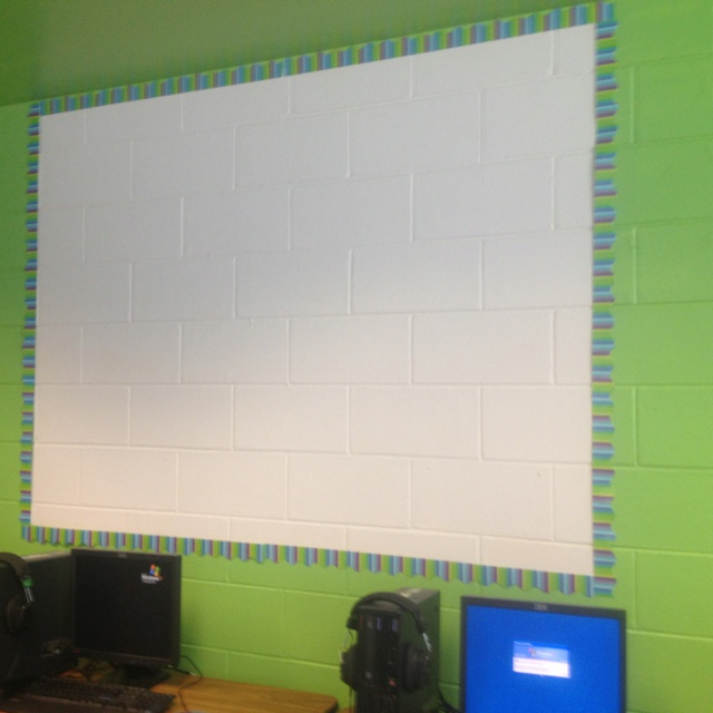 Classroom Decoration Whiteboard : Best images about cinder block walls on pinterest