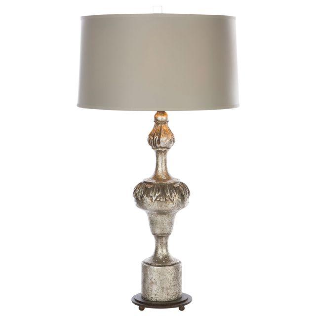 Aidan Gray Lighting Fergus Rustic Silver Table Lamp Set of 2 AGL875RUSTICSILVER