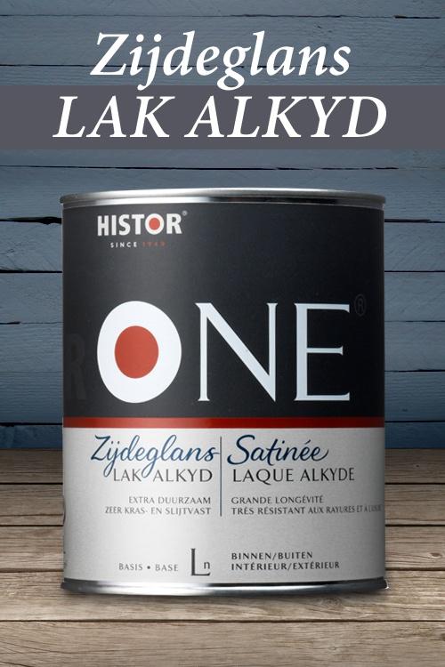 HistorONE Lak Zijdeglans alkyd | Extra dekkend en lichte glans.
