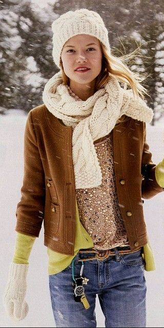 Cute look. Great layering.