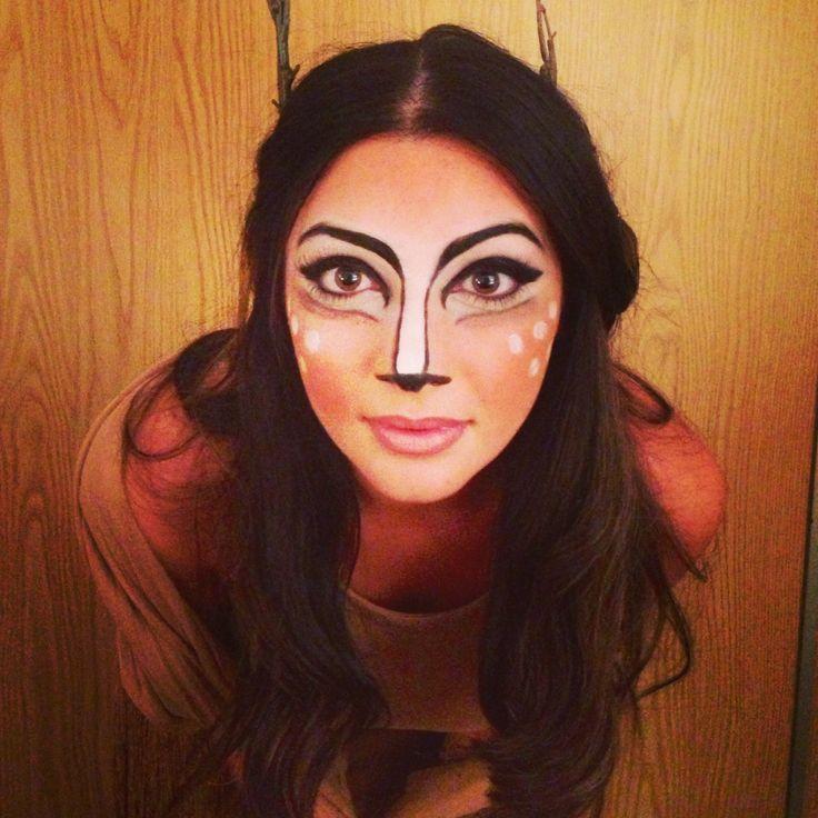 deer halloween makeup - photo #22