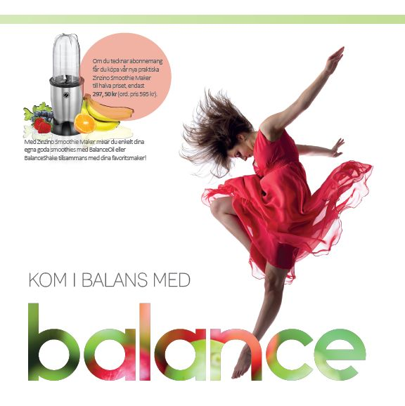 Zinzinos customer offer for Zinzino Balance products ...