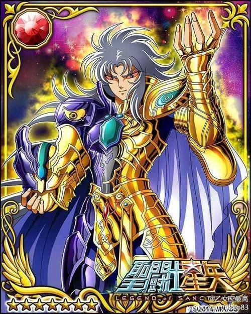 Gemini Saga 1 Galaxy Cards version Saint Seiya Legend of Sanctuary