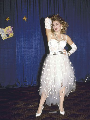 Dresses: Madonna at the MTV Video Music Awards, 1984
