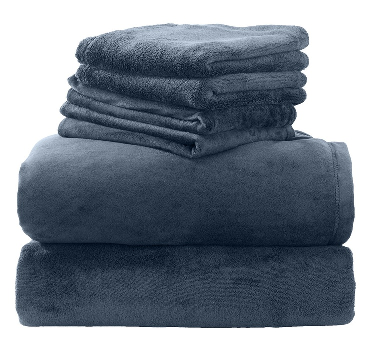 HomeSuite Mink 6 Piece Sheet Set, HomeSuite Collectionand Sheets from The Shopping Channel