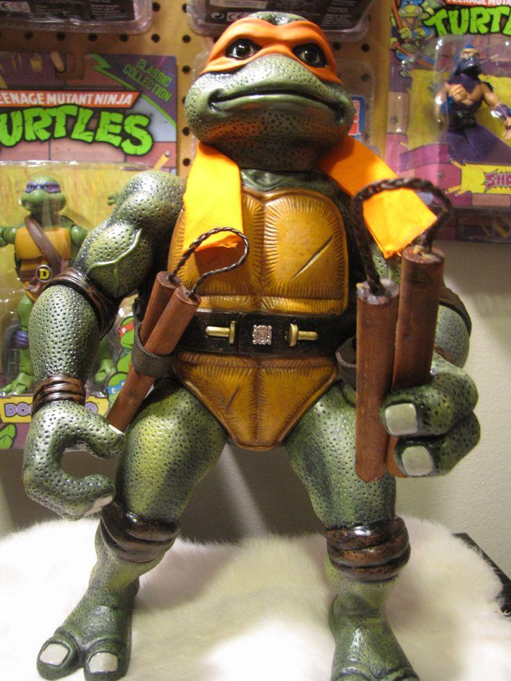 Custom Tmnt Movie Turtles Toy Discussion At Toyark Com