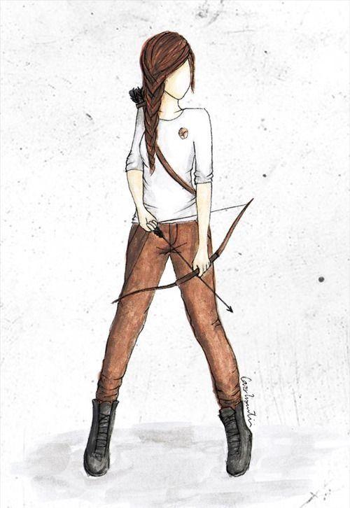 Hunger Games Fan Art / Katniss
