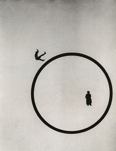 gacougnol: Laszlo Moholy-Nagy - How Do I Keep Young and Beautiful, 1920 #circles #laszlomoholy-nagy