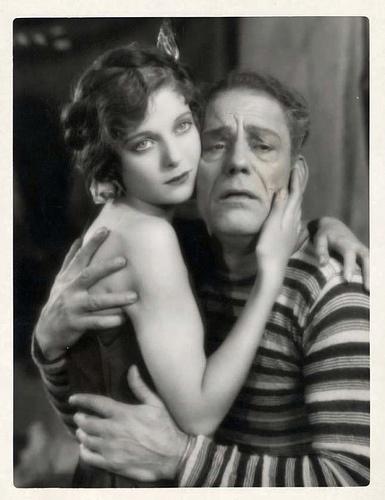 "Loretta Young and Lon Chaney : ""Laugh, Clown, Laugh"", 1928"