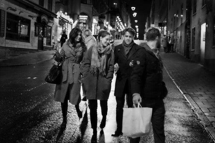 Elin, Annika, David & Lukas @ Götgatan
