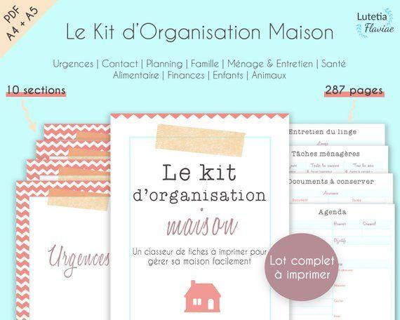 Planning Familial A Imprimer Planificateur Du Menage Taches