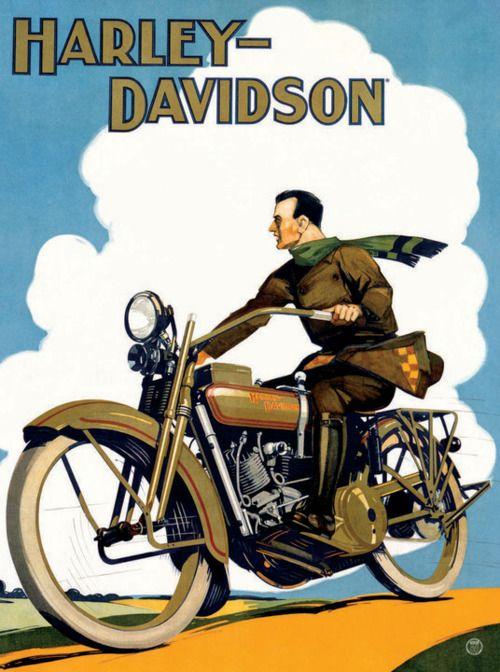 La Harley-Davinson como un icono cultural Diferentes representaciones anhelan el modelo ha seguir de un hombre libre.