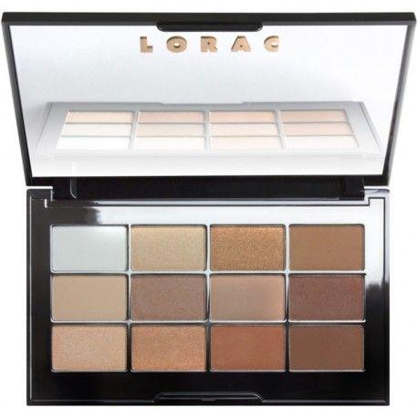 """Palette de fards à paupières Lorac Cosmetics """"Nude Necessities Eye Shadow"""", de la collection printemps 2016 !"""