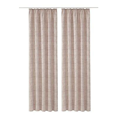 Vorhang, Home Wohnideen, »Corte« (2 Stück) in stein-beige im Online Shop von Baur Versand