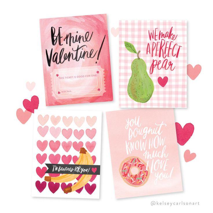 free printable valentines!
