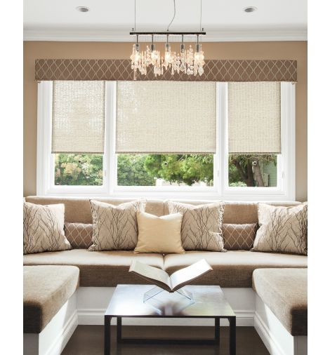 Classic roller shades shows valance at top smith noble for Smith and noble shades