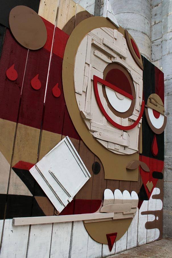Intervista allo street artist Nelio: Street Artists, Urban Art, Lancia Trendvisions, Artists Nelio, Intervista Allo, Public Art, Allo Street, Street Publ Art, Artists Relief