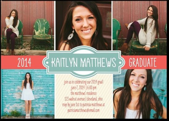 125 best Graduation InvitationsAnnouncements images on Pinterest