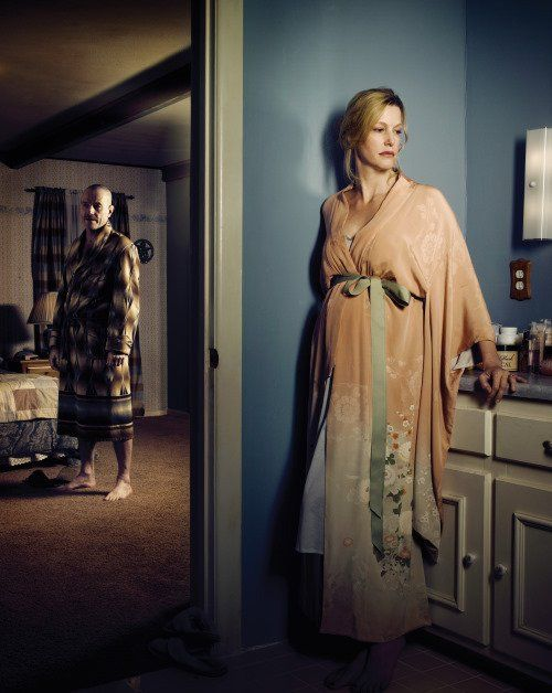 Bryan Cranston and Anna Gunn in Breaking Bad
