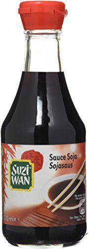 SUZI WAN Sauce Soja Salée – Pack de 12: La sauce soja est la base de la cuisine asiatique. Très utilisée lors de la confection de plats…