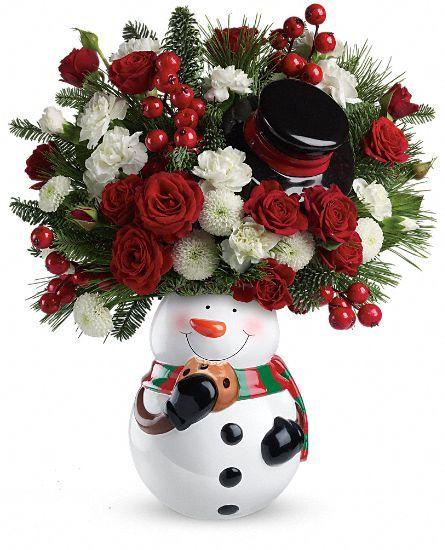 USA Flowers - Cookie Jar Greetings Bouquet