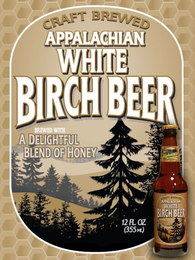 Appalachian Brewing Co. Available in Draft & Bottles – 24/12oz per case Our tremendously flavorful, handcrafted Birch Beer is brewed with pure cane sugar, a touch of honey and essence of birch extracts giving this soda a smooth and distinctive flavor. Appalachian Birch Beer is a caffeine and gluten-free craft soda with no artificial flavors or colors to ensure the highest quality possible. Enjoy chilled or over ice for a cool refreshing experience! #BirchBeer #CraftSoda