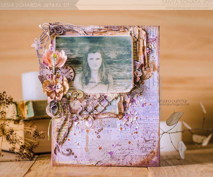 Винтажная комната вдохновение из Tanya SonataJoy / Vintage Inspiration Room with Tanya SonataJoy - Lesia Zgharda