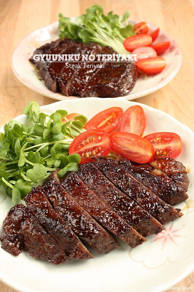 Ada alasan mengapa hidangan teriyaki sangat populer, itu adalah beraroma dan sangat mudah untuk mempersiapkan di rumah, dan tentu saja di restoran. Disukai oleh anak-anak dan orang dewasa, ini adalah hidangan yang baik untuk menguasai di rumah. Seringkali menggunakan sirloin, tetapi Anda dapat menggunakan potongan steak favorit Anda, seperti misalnya tenderloin.