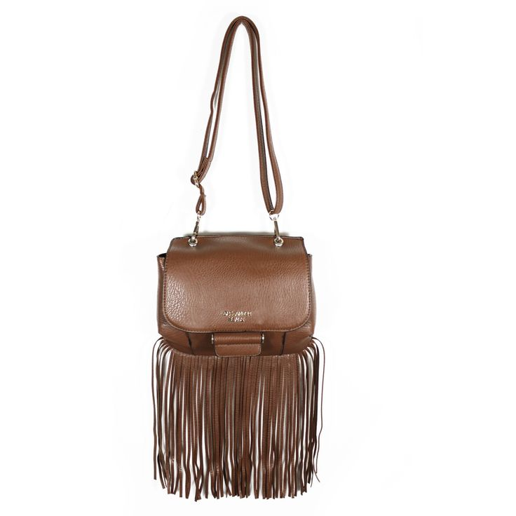 """Forget tinsel this AW15/16 - go for tassels! Check """"Tanya"""" out in brown or black at www.borsetta.london xx Hols xx"""