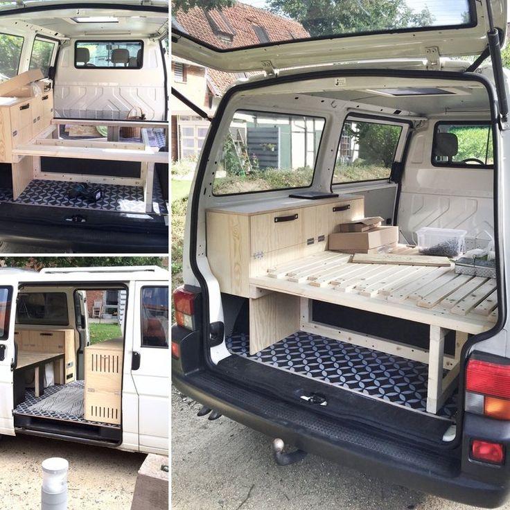 best 25 t4 camper ideas on pinterest camper conversion. Black Bedroom Furniture Sets. Home Design Ideas