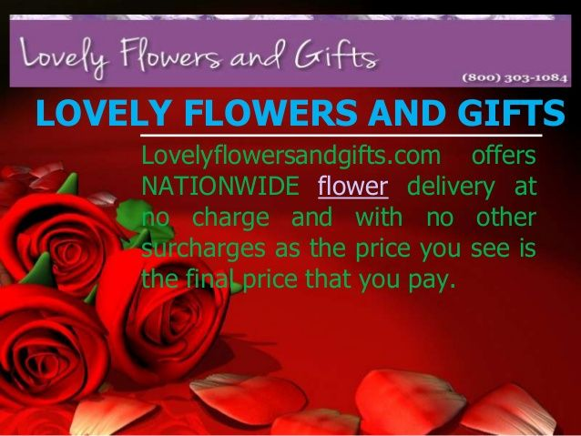 Send flowers for only $29.95 including delivery by a local florist, International flower delivery also available.