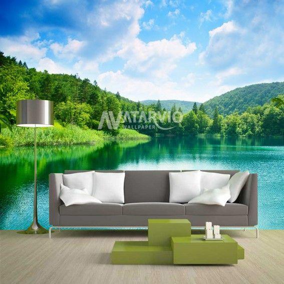 Deskripsi Item Wallpaper Custom Dengan Tema Alam Akan Membuat Ruangan Kalian Jadi Lebih Indah Dan Bernuansa Lebih Alami Wallpaper Pemandangan Ruangan Alam