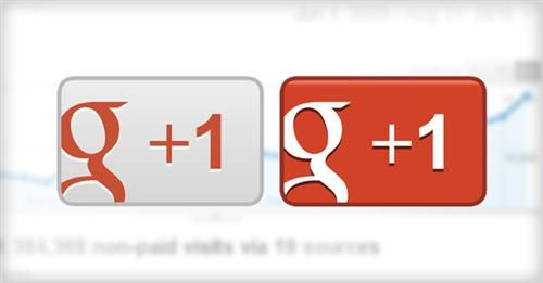 Top 5 Reasons To Use Google+ : Google+1 Button